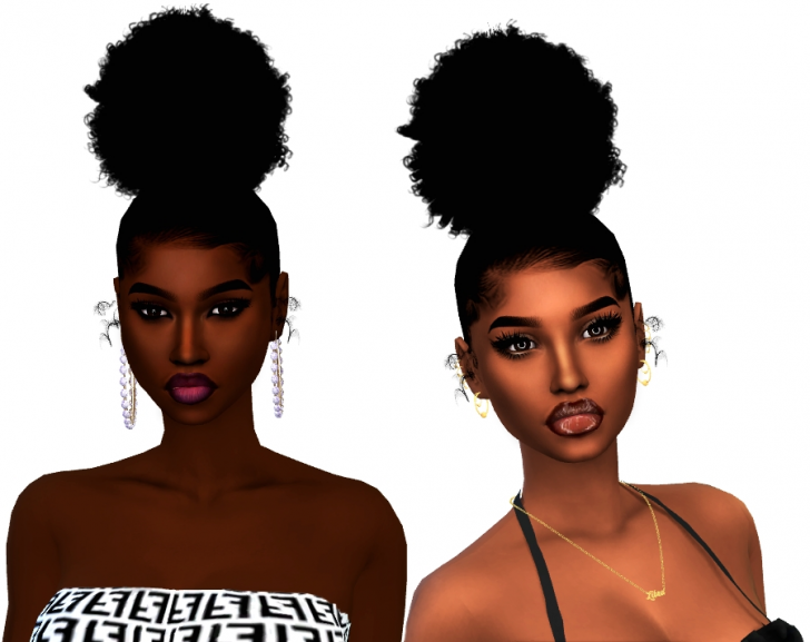 Permalink to 10   Sims 4 African American Hairstyles