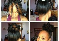 Elegant 29 awesome new ways to style your natural hair Easy Hairstyles For Short African American Hair