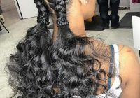 Stylish 88 best black braided hairstyles to copy in 2020 stayglam Quick Braid Hairstyles Ideas